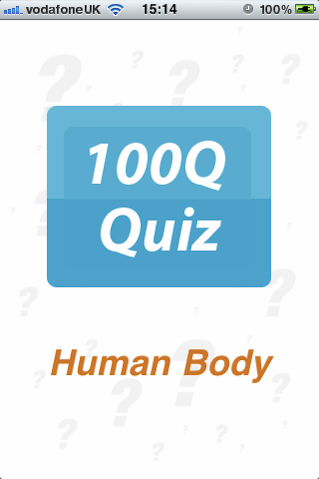 Screenshot Human Body – 100Q Quiz